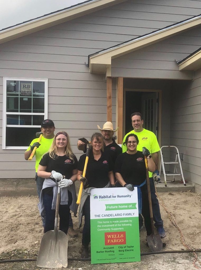 NSP built a home with Habitat for Humanity