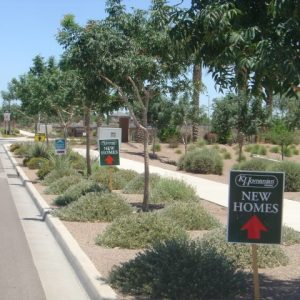 weekend directional signs